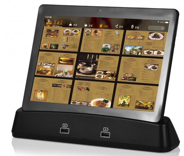 Tablet Pc 10-inch With Charge Dock Suitable For Restaurant Hotel