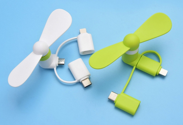 Mini Fan Directly For Cellphone Directly Use Phone Electric Power Portable Fan