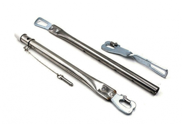 Car Door Holder Stainless Steel Polished Support Rod 19cm 54cm 74cm