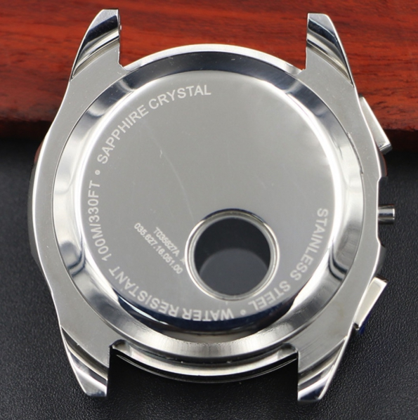 OEM Stainless Steel Wrist Watch Case 3ATM Full Case Stainless Steel