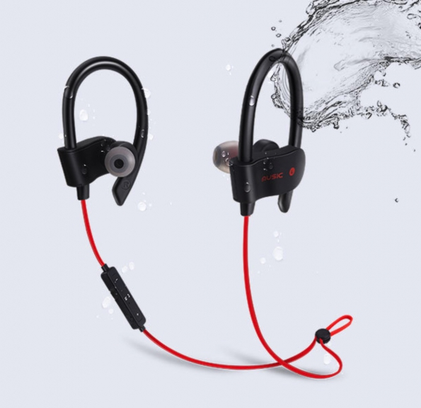 Sports Bluetooth V5.0 Earphone 8g Lightweight Rechargeable
