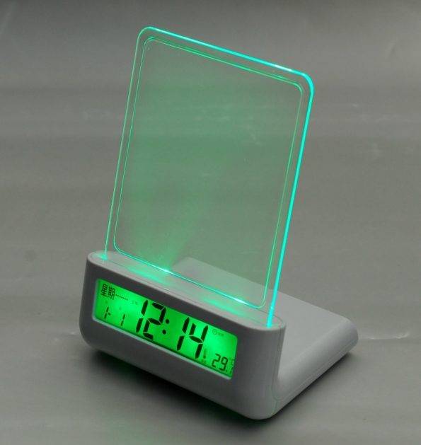Message Board LED Clock Message Left Desk In Lighting Message Board Creative Gift