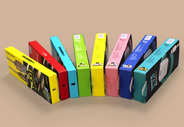 Cable Box Packaging Design Customized With Your Logo OEM