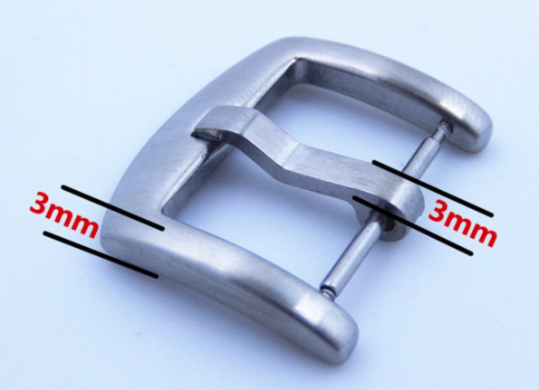 Solid Stainless Steel 304 Buckle To Watch 16 18 20 22 And 24mm