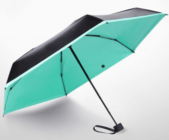 Pocket Mini Travel Umbrella Aluminum Stand Mini 17cm Only