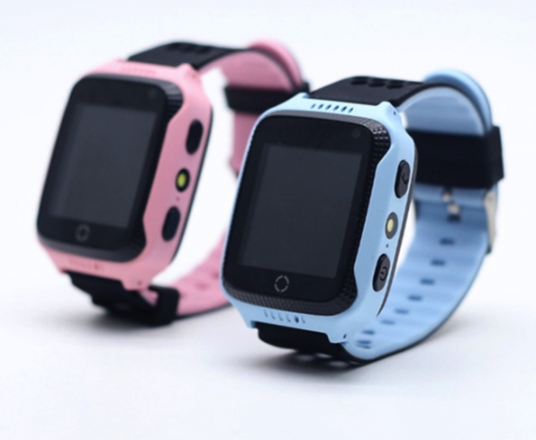 Kids Mobile Phone Watch Cellphone Quad Band GSM GPS Phone