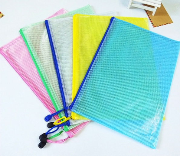 Zipper Bags All Sizes Custom Order Of 500pcs Multi-colors PVC Waterproof