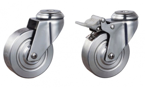 Stainless Steel Caster Wheel All Type 304 3 4 5-inch