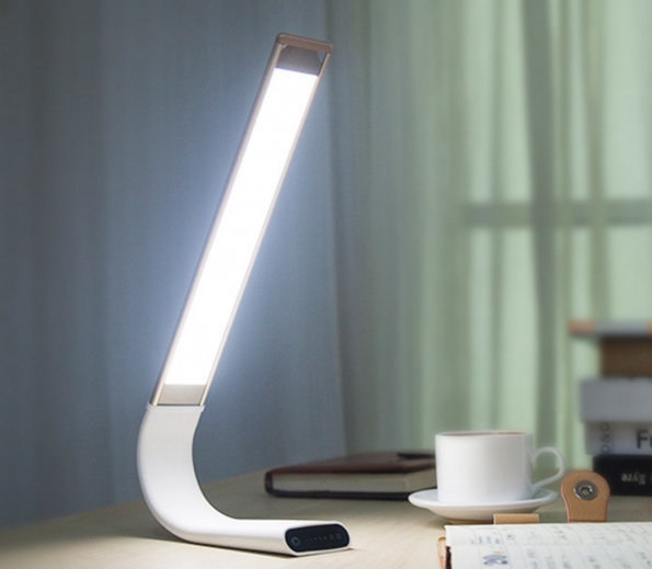 Professional Reading LED Lamp Sample Fashion Design Flexible Aluminum Designed Battery Build-in