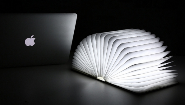 Book Light Magic Folding Book Special Lamp Perfect Gift To Friends Beautiful LED Lamp