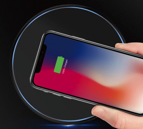 QC 3.0 Fast Charge Wireless Charger Pad Transmitter Power Of 10W