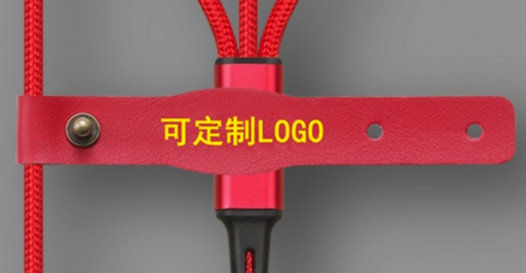 3-in-1 Nylon USB Cable Logo Customization OEM Gift