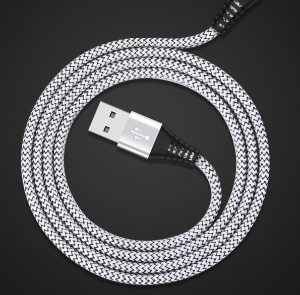2.4A Braided Fast Charge USB Cable