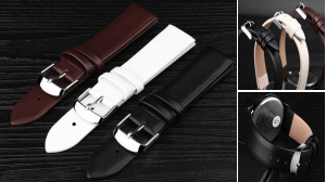 PU Leather Strap 14 To 22mm