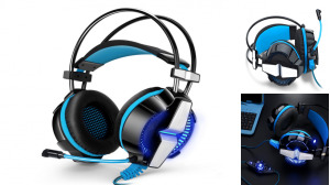 7.1 Channel Gaming PC LED Headset