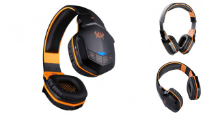Over Ear NFC Headset Rechargeable