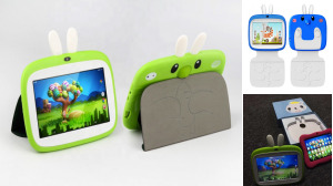 Kids Cartoon Learning Tablet 7-inch