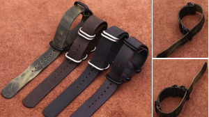Handmade Style Strap For Nato Watch