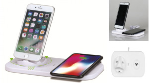 3in1 Mobile Phone Charging Stand