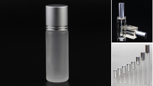 Scent Jar Glass Bottle With Lid