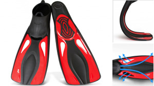 Rubber Material Diving Fins